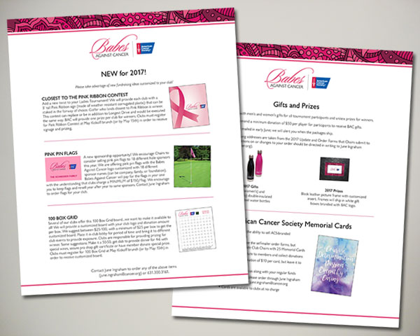 babes against cancer sponsorship toolkit