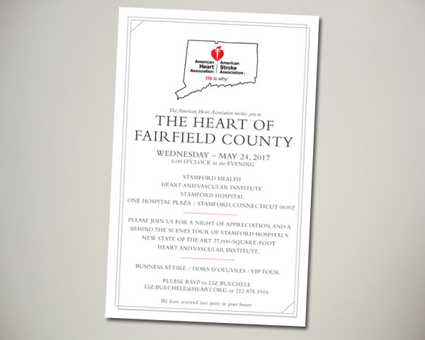 American Heart Association circle of red wine tasting