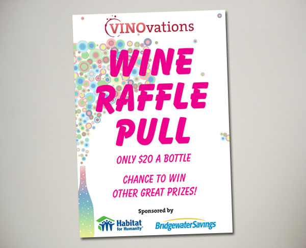 vinovations wine pull sign design