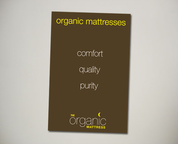 organic mattress signdesign