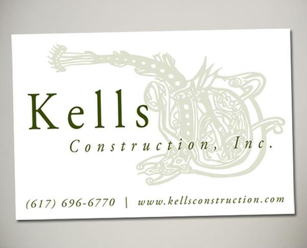 kells construction site sign design