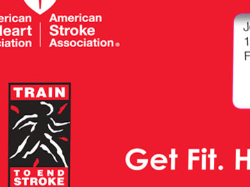 Train to end stroke mailer