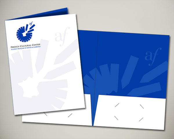 french cultural center boston folder design