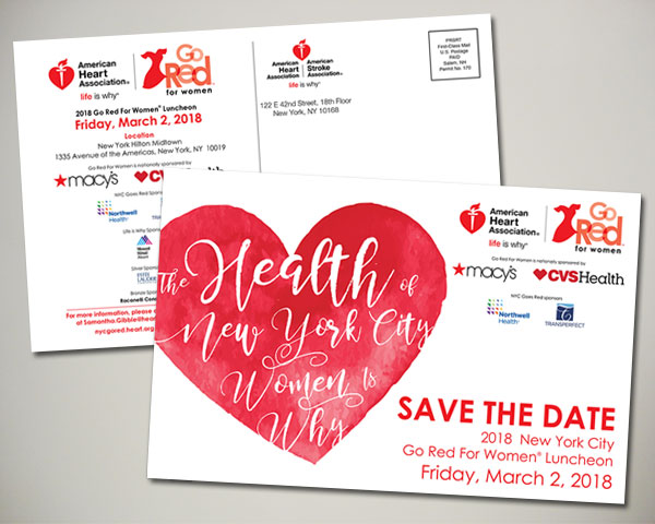 nyc go red save the date