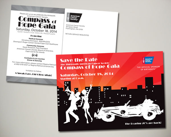 non profit compass of hope gala save the date