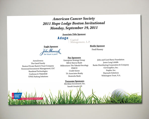 golf invitational banner