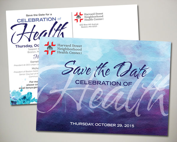 non profit harvard street health center gala save the date