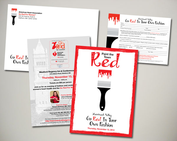 merrimack valley go red in your own fashion invitation