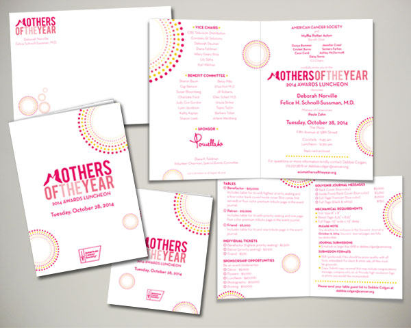mothers of the year non prfit luncheon invitation