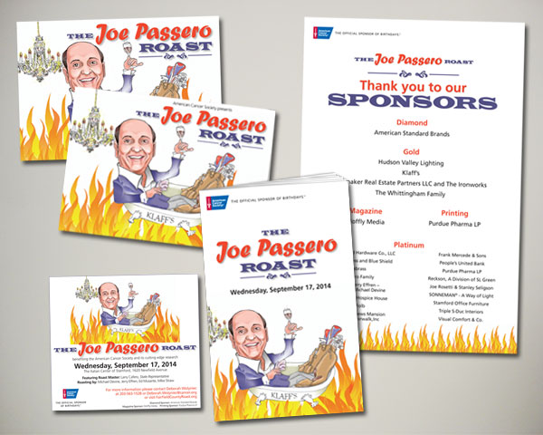 fairfield county roast of joe passero