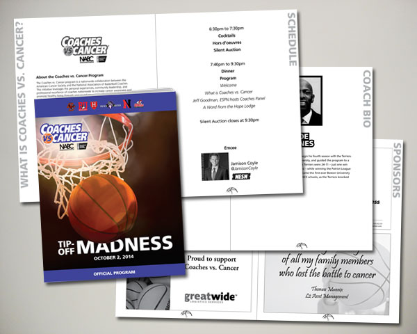 coaches vs. cancer program book