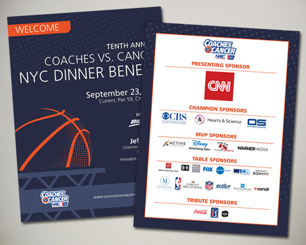 american cancer society non profit coaches vs. cancer invitation